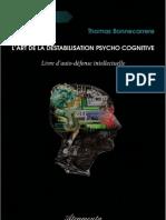 L'art de la déstabilisation psycho cognitive-Thomas BONNECARRERE