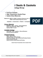 Industrial Seal and Gasket Catalog