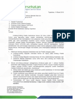 441. Permintaan Laporan Berkala Data Izin Praktik Dokter
