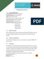 Informe WPPSI