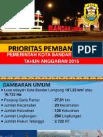 Presentasi Prioritas Pembangunan 2016