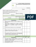Anexo No 2 Listado Verificación Evaluación y Reevaluación de Contratistas SG-SST