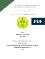 Dewi Setya Damayanti - 3215140620 - Proposal Metlit