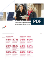 Customer Experience and Payment Behaviours in the Psd2