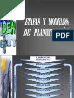 3 Pasos, Momentos o Etapas y Modelos de Planificación