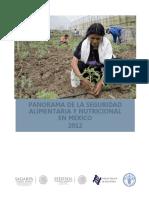 Panorama Seguridad Alimentaria Mexico 2012