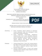 Permenpan 25 Tahun 2016 Tentang Nomenklatur Jabatan Pelaksana Bagi Pegawai Negeri Sipil
