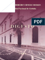 DIGESTO 2001