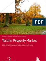 Tallinn Real Estate Market Review November 2009