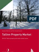 Tallinn Real Estate Market Review February 2010