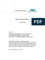 Effective Core Potential - By Dolg