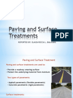 Paving and Surface Treatments