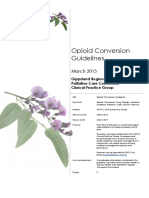 Opioid Conversion Guidelines FINAL 2015