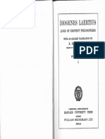 Vies Et Doctrines Des Philosophes de l'Antiquité - Diogène Laërce, Charles Zévort