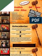 Masacre de Barrios Altos Diapositivas