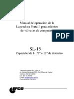Manual Sl-15 Tmt