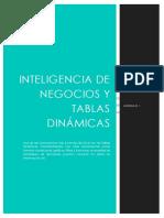 Tablas Dinámicas e Inteligencia de Negocios 1