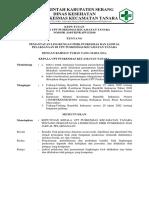 8.5.1 SK Pemantauan Lingkungan Fisik Puskesmas Dan Jadual Pelaksanaan