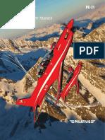 """Pilatus Aircraft """"Entrega del primer PC-21 a QinetiQ"""""""