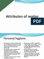 Attributes of Waiter