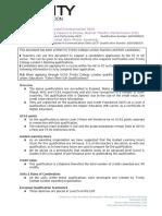 ATCL UCAS Guidance Document