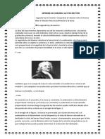 Informe de Segunda Ley de Newton