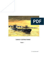Submarinos. Casco y Estructura.