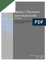 Algebra 1 Placement Exam Study Guide 2011.pdf