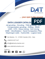 DAT Instruments - Catalogue 2018