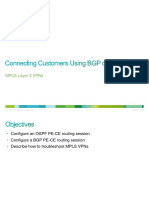 6-Connecting Customers Using BGP or OSPF
