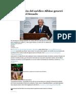 La Exposición Del Médico Albino Generó Revuelo en El Senado