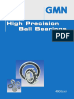 High precision Ball berings GMN
