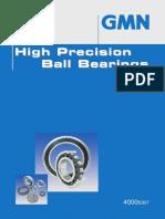High precision Ball berings GMN
