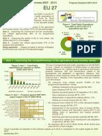 UE 27 Dezvoltarea Rurala