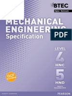 Specification November 2016 Mechanical