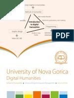 Digital Humanities MA study programme, University of Nova Gorica, Slovenia, 2018