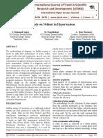 A Study on Neikuri in Hypertension