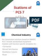 Applications of PCS7