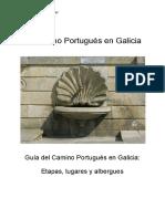 caminho português en Galicia