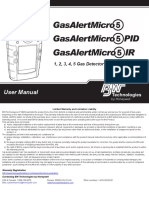 GasAlertMicro5 User Manual