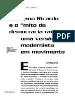 Mjose_Cassiano Ricardo e o Mito Da Democracia Racial