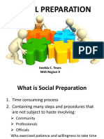 Social Preparation