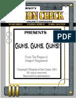 Action Check Guns Guns Guns