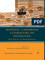 (New Concepts in Latino American Cultures) Vanessa Pérez Rosario (eds.)-Hispanic Caribbean Literature of Migration_ Narratives of Displacement-Palgrave Macmillan US (2010)