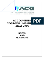 CVP Notes and Questions(4)