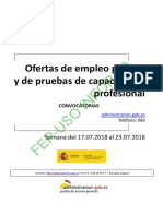BOLETIN SEMANAL CONVOCATORIA OFERTA EMPLEO PUBLICO DEL 17 AL 23 DE JULIO DE 2018.pdf