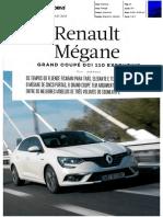 "RENAULT MÉGANE GRAND COUPE dCi 110 NA ""AUTO DRIVE"""