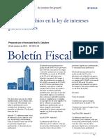 Boletín Fiscal