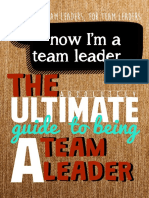 The Ultimate guide to being a team leader