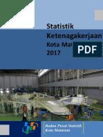 Statistik Ketenagakerjaan Kota Mataram 2017